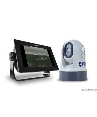 Caméra d'imagerie thermique IP M232 avec mouvement Pan / Tilt et zoom