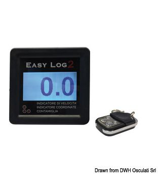 Indicateur de vitesse GPS Easy Log sans transducteur