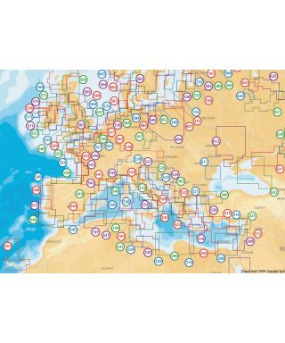 Navionics + Small nautical chart