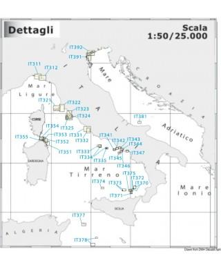 Carte Navimap IT344-IT347 De Portici à Marina di Equa