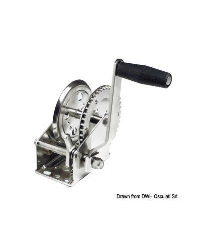 Treuil Inox 304 Traction maxi 904 kg