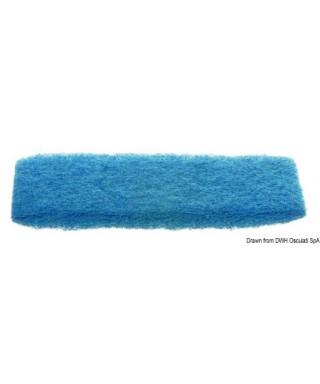 Tampon abrasif Yachticon Medium bleu 260x115mm