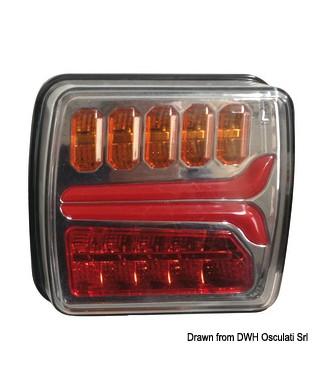 Feu arrière droit à LED dynamique