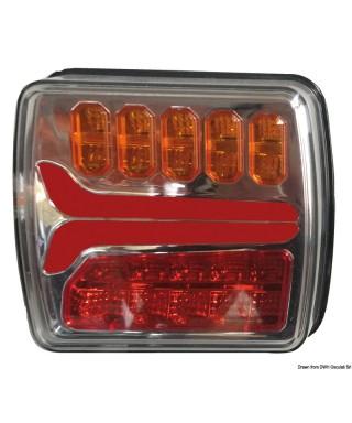 Feu arrière gauche à LED dynamique