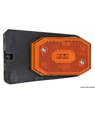 Feu avant à LED avec étrier lumière orange