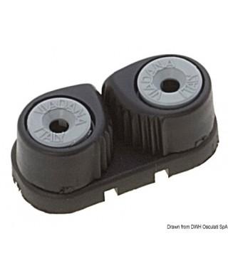 Coinceur fibre de carbone/aluminium anodisé écoutes 3/8 mm
