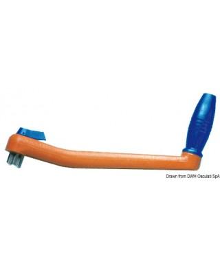 Manivelle flottante pour winch 200 mm
