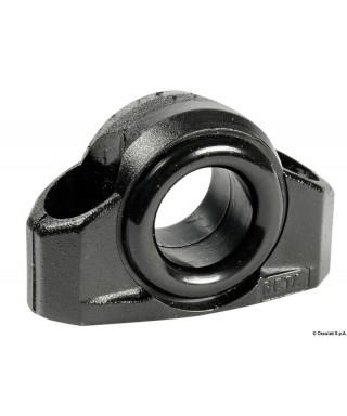 Filoir en nylon noir pour dériveurs 17 mm