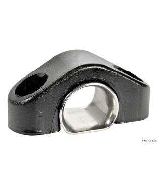 Filoir en nylon noir dériveurs renfort inox 13 mm