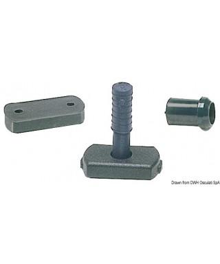 Douille de réduction pour tubes 17 mm barre franche