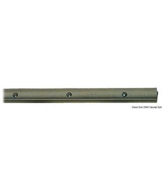 Rail aluminium anodisé + PTFE 25x16mm 2m
