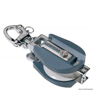 Poulie en aluminium LEWMAR diamètre 125 mm bout max 22mm