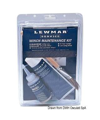 Kit de maintenance winch LEWMAR huile graisse pinceau et 10 ressorts