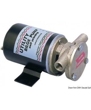 Pompe de cale auto-amorçable 12V 7A Version B Débit 30 L/m