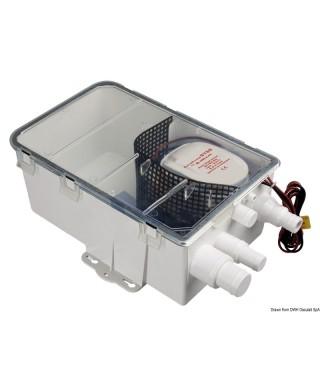 Collecteur d'eaux usées Europump Auto 12V Débit 48 L/m