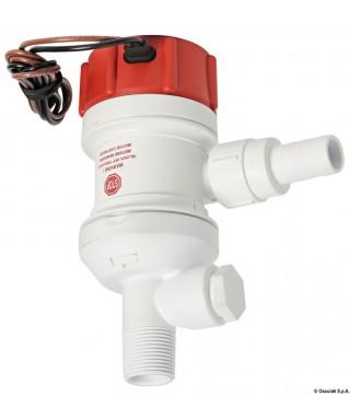 Pompe aératrice pour viviers Rule Dual-Port Débit 32 L/m