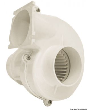 Ventilateur aspirant gaz de cale 24V Débit 260 m3/h homologué RINA