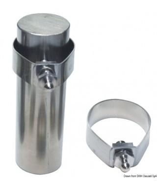 Collier de serrage inox pour boutons Tenax 22 mm