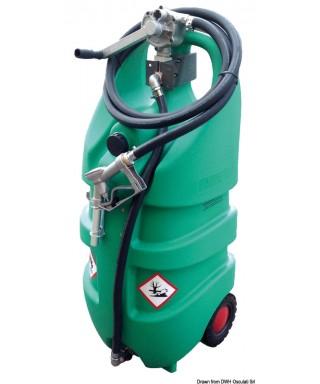 Conteneur pour essence 110 L avec roues homologué ADR