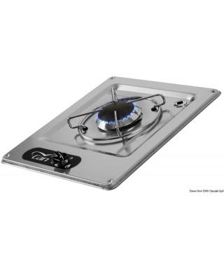 Plaque cuisson inox à encastrer 1 feux 320x285 mm