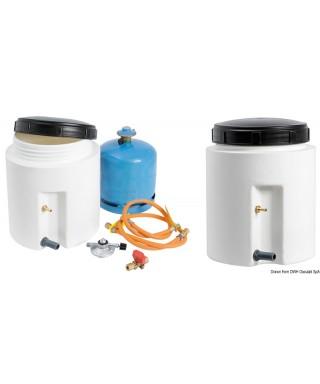 Container étanche pour bouteille gaz