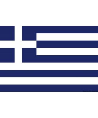Pavillon Grèce 50 x 75 cm en tissu de polyester teintes indélébiles