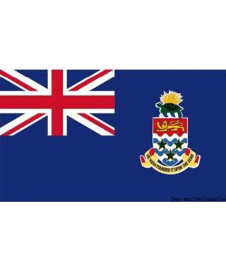 Pavillon nationale Îles Caïmans 30 x 45 cm de courtoisie