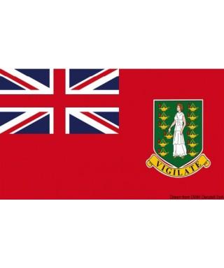Pavillon marine Iles Vierges Britanniques 30x45 cm