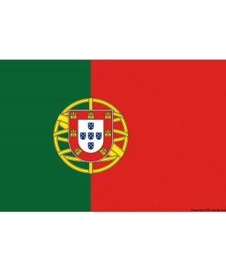 Pavillon Portugal 30 x 45 cm en tissu de polyester teintes indélébiles