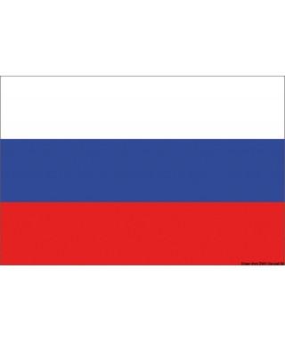 Pavillon Russie 30 x 45 cm en tissu de polyester teintes indélébiles