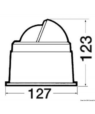 "Compas 3"" RIVIERA BZ3/AV rose Noir boitier Noir"