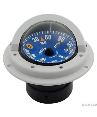"""Compas 3"""" RIVIERA BZ1/AVG rose bleue boîtier Gris"""