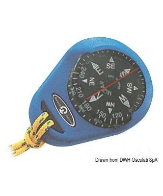 Compas RIVIERA Mizar avec boîtier souple bleu