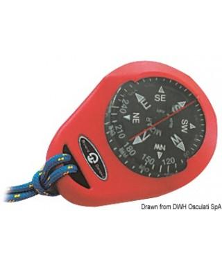 Compas RIVIERA Mizar avec boîtier souple rouge