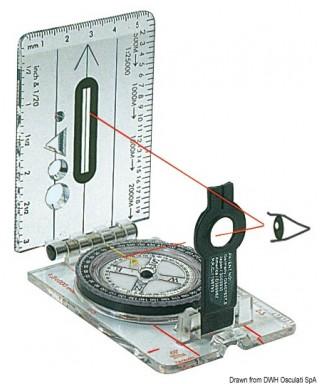 Compas de relèvement CD703L ouvert 57x160 mm