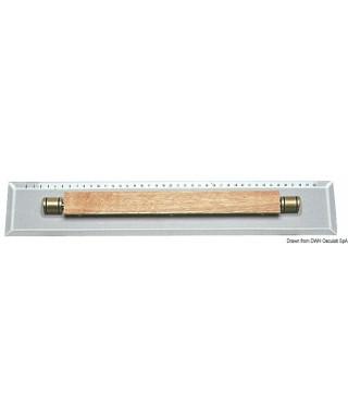 Réglette parallèle en plexiglas Longueur 450mm