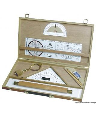 Kit cartographie avec valisette en bois