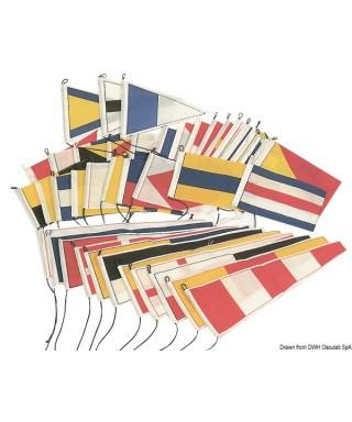 Pavillon Grand Pavois 20 x 30 cm Drapeaux simples