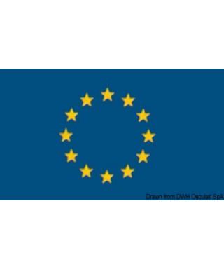 Pavillon Union Européenne + Italie 20 x 30 cm