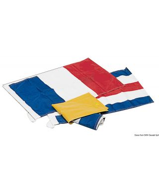 Kit trois pavillons obligatoires N + C + pavillon France 10 X 15 cm