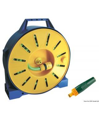 Tuyau PVC armé sur tambour enrouleur 15 m