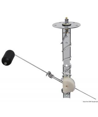 Jauge carburant avec flotteur 130/660mm 12V Fréquence 240-33 Ω