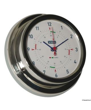 Horloge quartz Vion A 100 LD radiosecteur silence diamètre 106mm