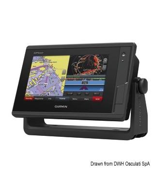 Chartplotter Garmin GPSMap 722xs Plus + Radar GMR18 HD avec transducteur