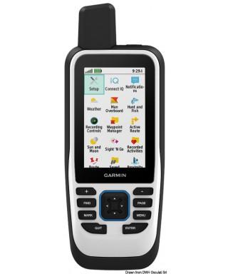 GPSMAP portable 86i Accelerometer barometric altimeter et compass