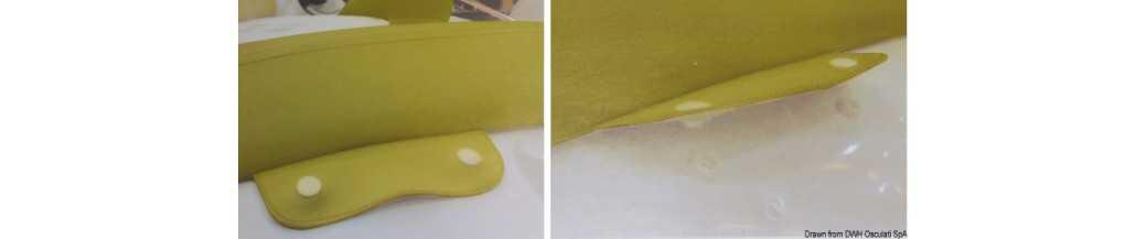 Boutons en plastique STAYPUT Press Clip
