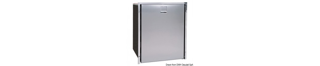Réfrigérateur ISOTHERM frontal Inox clean touch