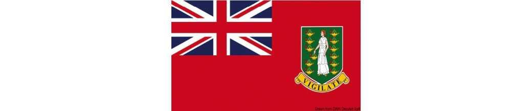 Pavillon Iles Vierges Britanniques marchand