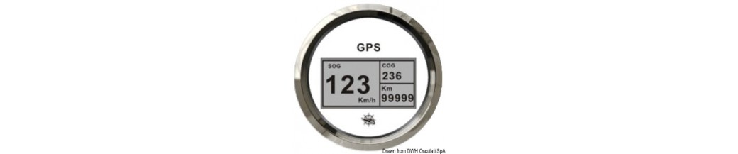 Speedomètre compteur milles GPS sans transducteur