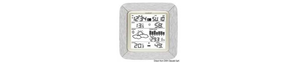 Stations météo et barographes